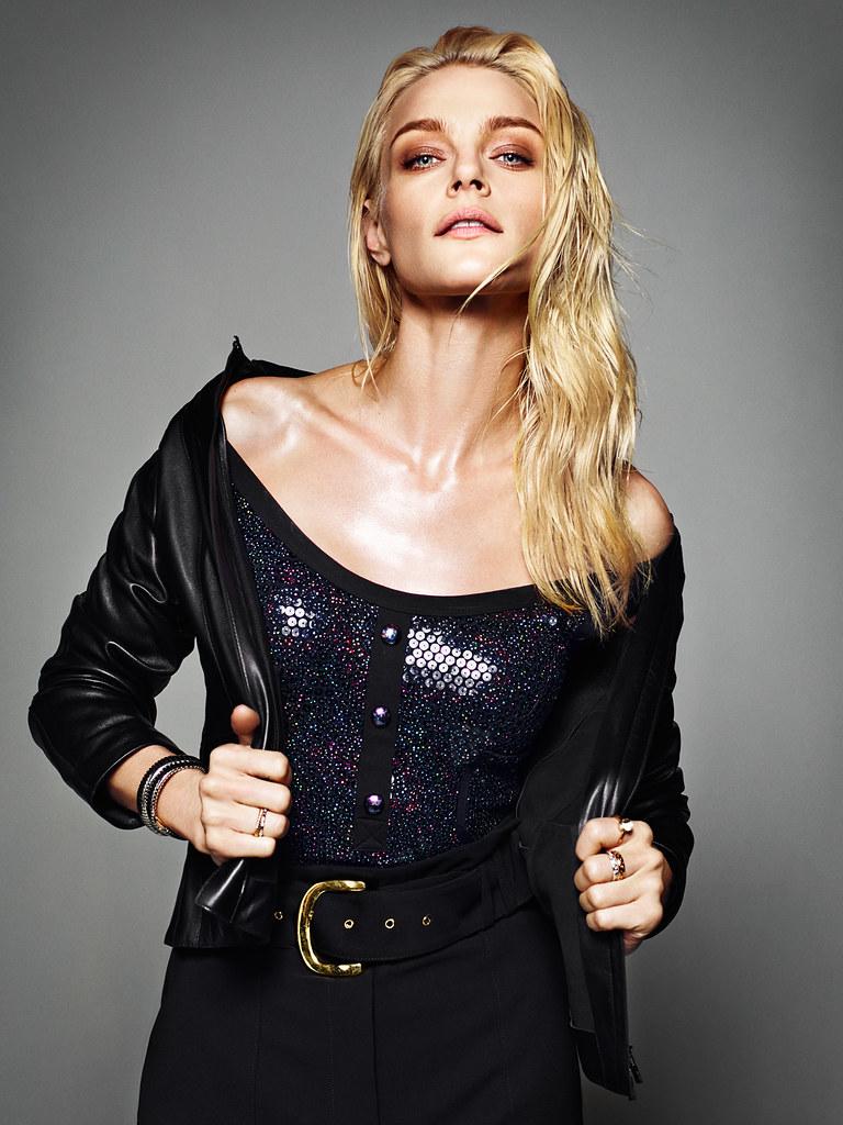 Джессика Стэм — Фотосессия для «Harper's Bazaar» ES 2016 – 13
