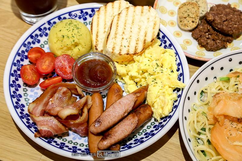 BLU BLU Kafe 不如咖啡 咖啡店 · 早餐&早午餐餐廳