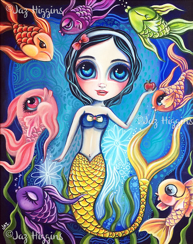 """Ice Cream Fantasy"" Original Painting by Jaz  Higgins"