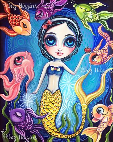 """Ice Cream Fantasy"" Original Painting by Jaz  Higgins"