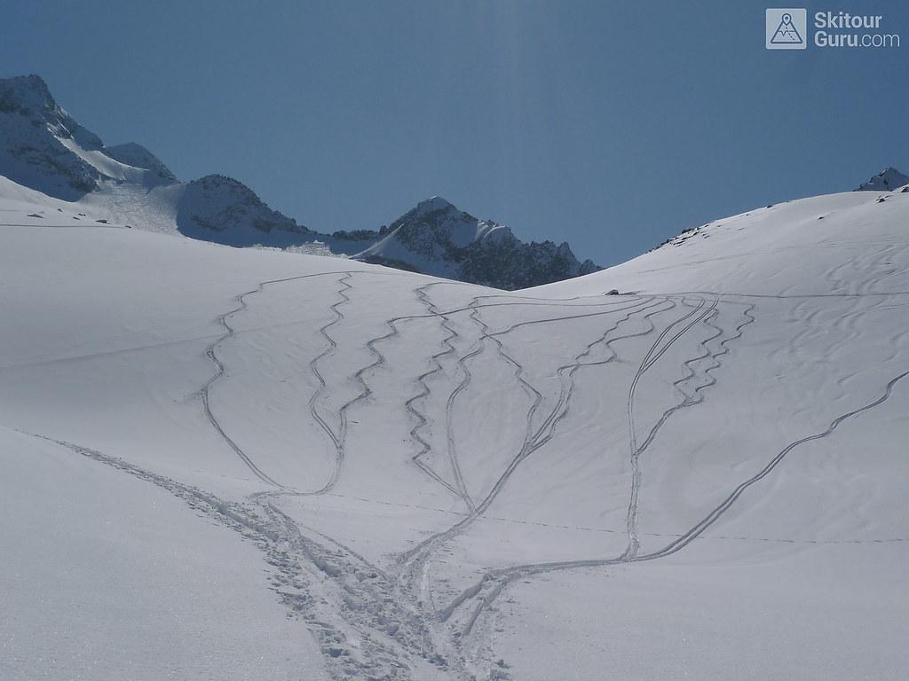 Kraulscharte Stubaiské Alpy Österreich foto 17