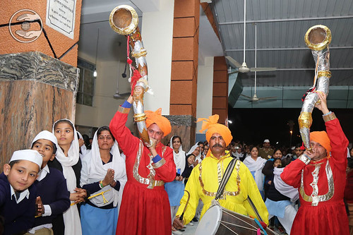 Traditional welcome at Jammu