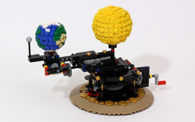 Earth, Moon and Sun Orrery