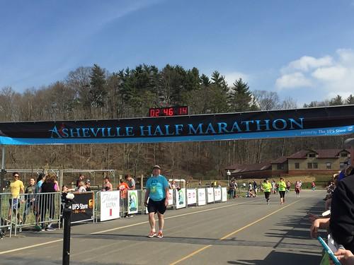 Asheville Half Marathon 7