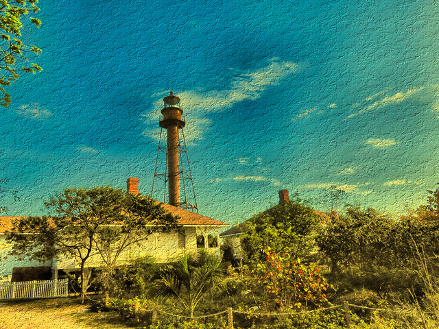 Lighthouse Point Sanibel OLD OIL 20160329