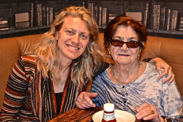 me and grandma - Nan and Byron's Restaurant in Charlotte, North Carolina