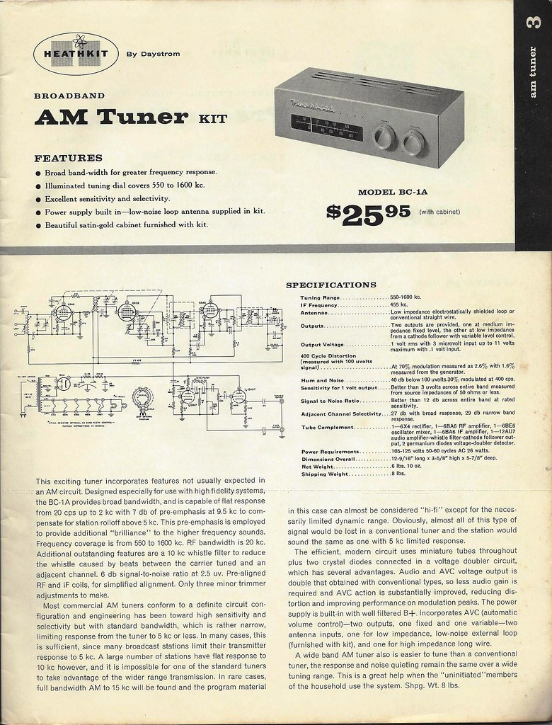 Heathkit AM tuner question | Audiokarma Home Audio Stereo Discussion Forums