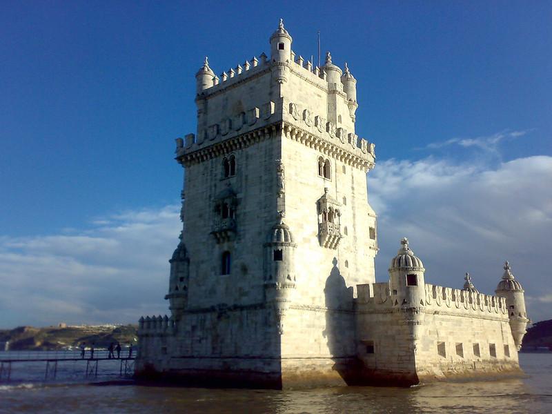 Jardim da Torre de Belém, Lisboa, Portugal