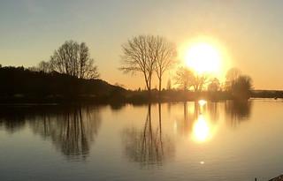 Bourne End sunset