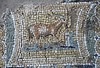 """Goat (Detail) - Nymphaeum with mosaics (1st century AD) from Vesuvian area - Exhibition """"Myth and Nature"""" at Archaeological Museum of Naples, until September 30, 2016"""