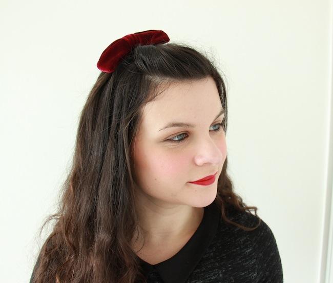 4_coiffures_simples_avec_une_barrette_à_neoud_blog_mode_la_rochelle_2