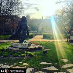 "#Repost @nattycakes2: ・・・ Currently in the ""holy macaroni next week is the last week of classes ever I need to take pictures of everything on campus!!!!!!"" phase. #wearemarquette"