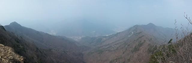 아침산책길: 도장산 - 파노라마