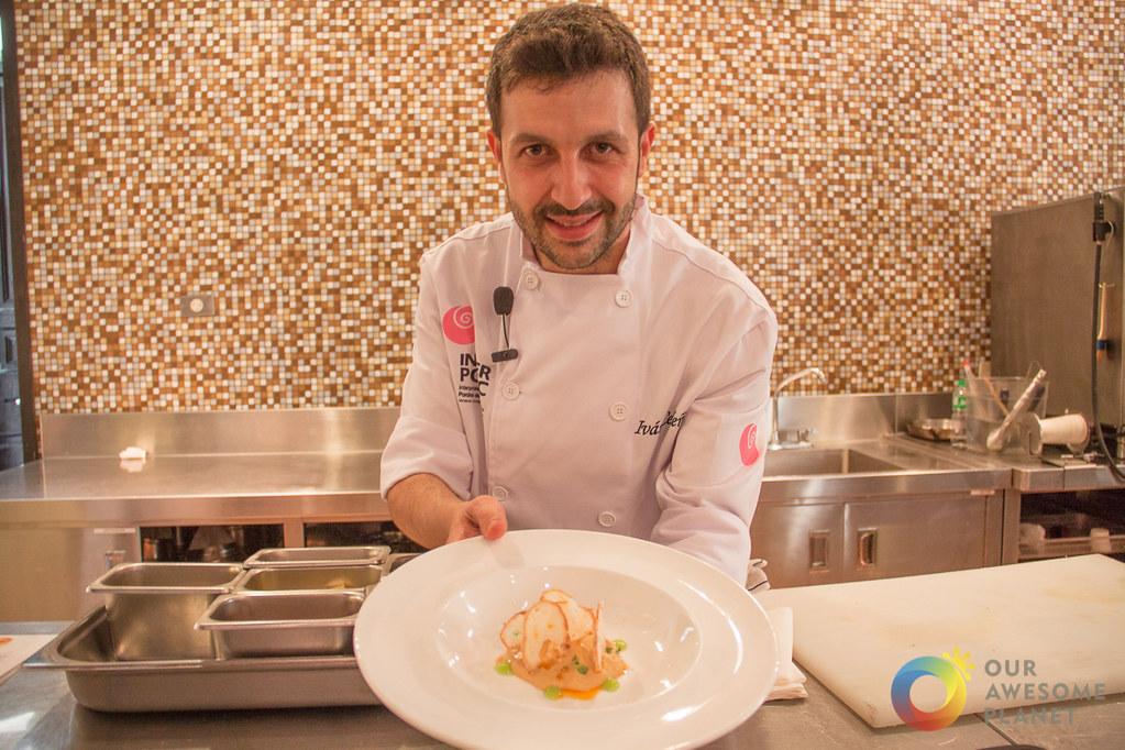 Michelin-Starred Chef Ivan Cerdeño's Secret Spanish White Pork Recipes @MadridFusionMNL