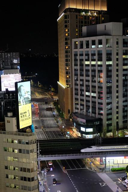 Shinkansen view from KIRIKO TERRACE