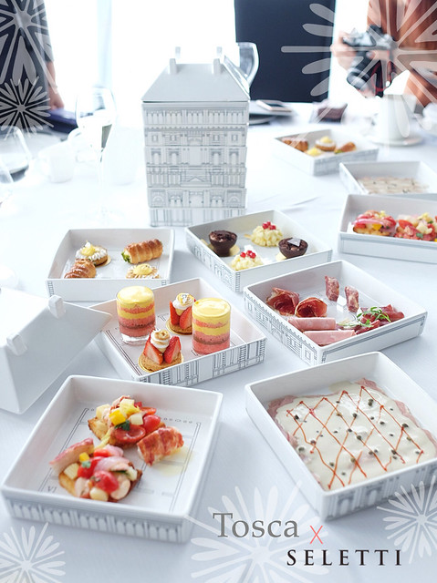SELETTI afternoon tea at Tosca, Ritz Carlton Hong Kong