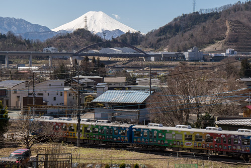 Fujikyuko Line, Mt. Fuji & Superconducting Maglev train