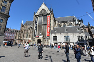 Image of Nieuwe Kerk. geotagged damsquare nieuwekerk amsterdamnetherlands nikond610 nikkor20mmƒ28afd