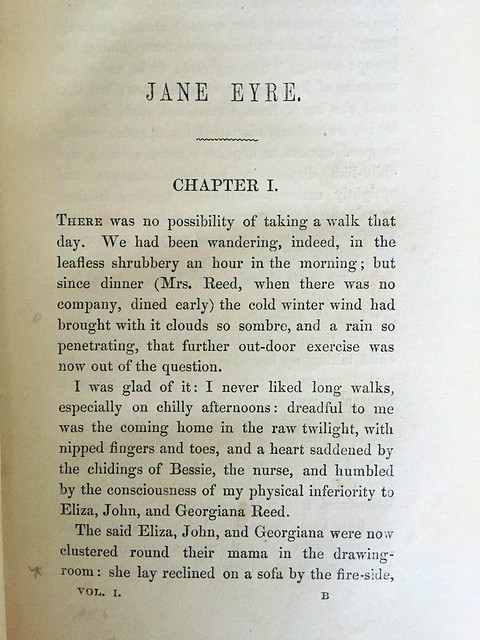 Jane Eyre chapter 1