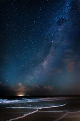 Woorim Beach at Night