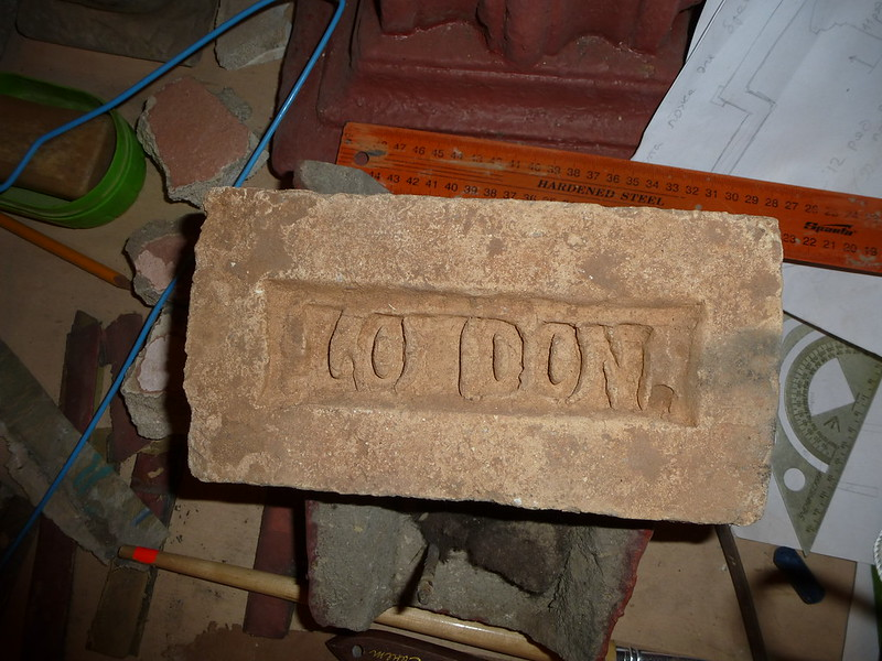Inscribed bricks