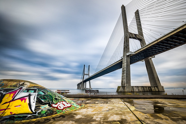Vasco Da Gama bridge - Lisbon, Portugal - Architecture photography