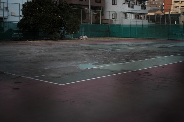 Waste Tennis Court