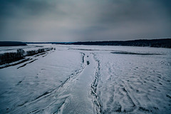 Des Moines River Valley - Winter in Central Iowa