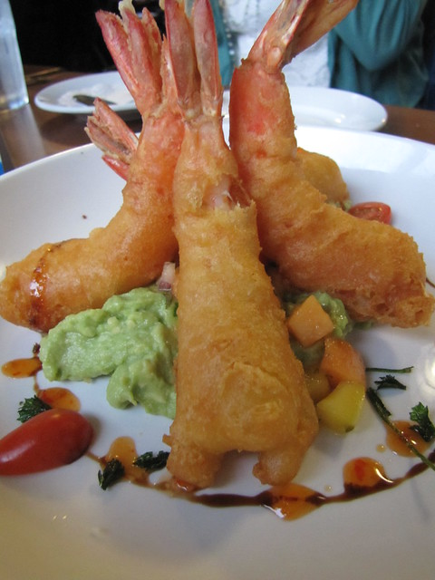 Firecracker Prawns at Scales Seafood & Steaks