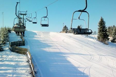 Branná - sníh jako první