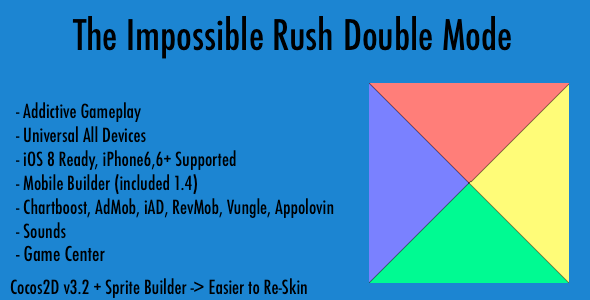 CodeCanyon The Impossible Rush Double Mode v1.0