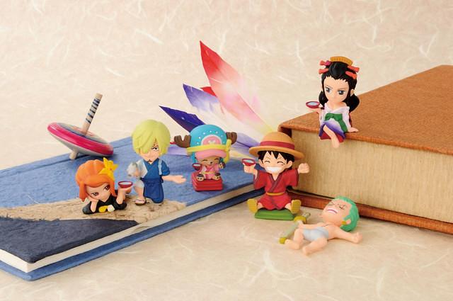 全體和風登場!一番賞 《海賊王》如花盛開!艷麗的姿色 草帽一夥繪卷