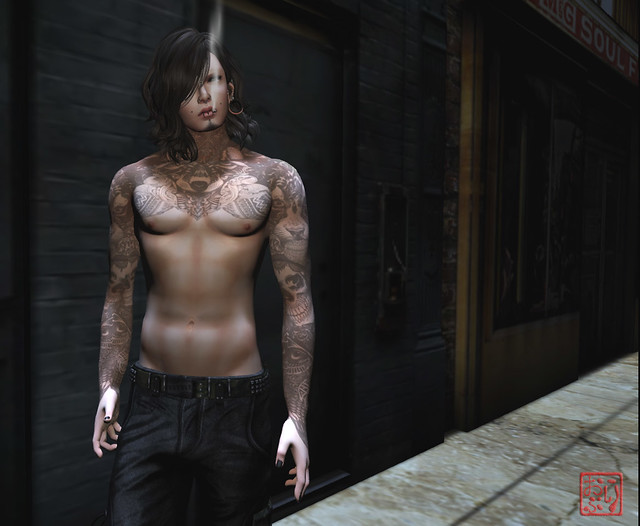 I'm inlove with my Male Avatar! :D