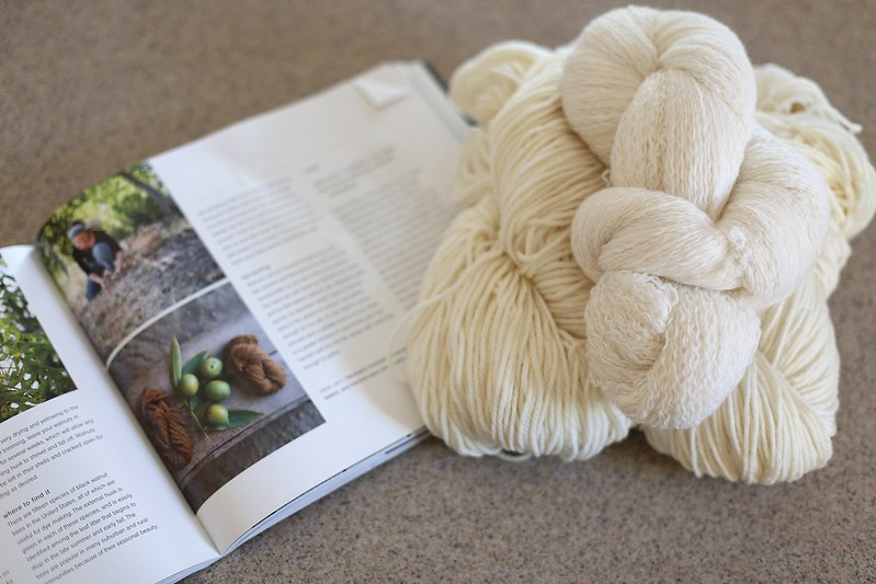 yarn to dye
