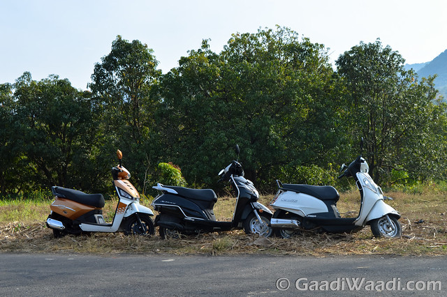Mahindra Gusto125 vs Activa125 vs Suzuki access 125 -19