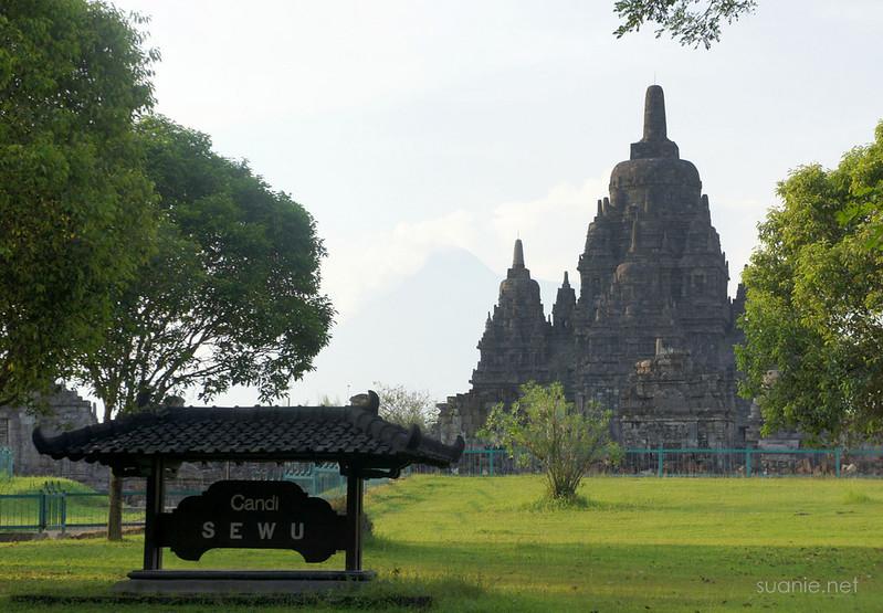 Prambanan, Yogyakarta - Candi Sewu sign