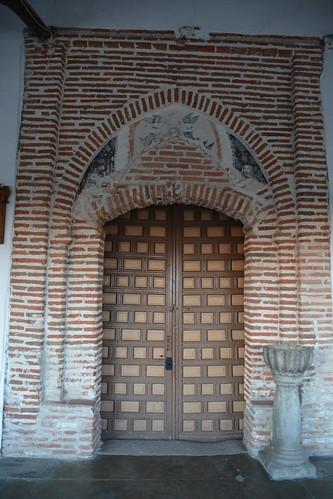 Aldeaseca de la Frontera. Iglesia de la Asunción. Portada