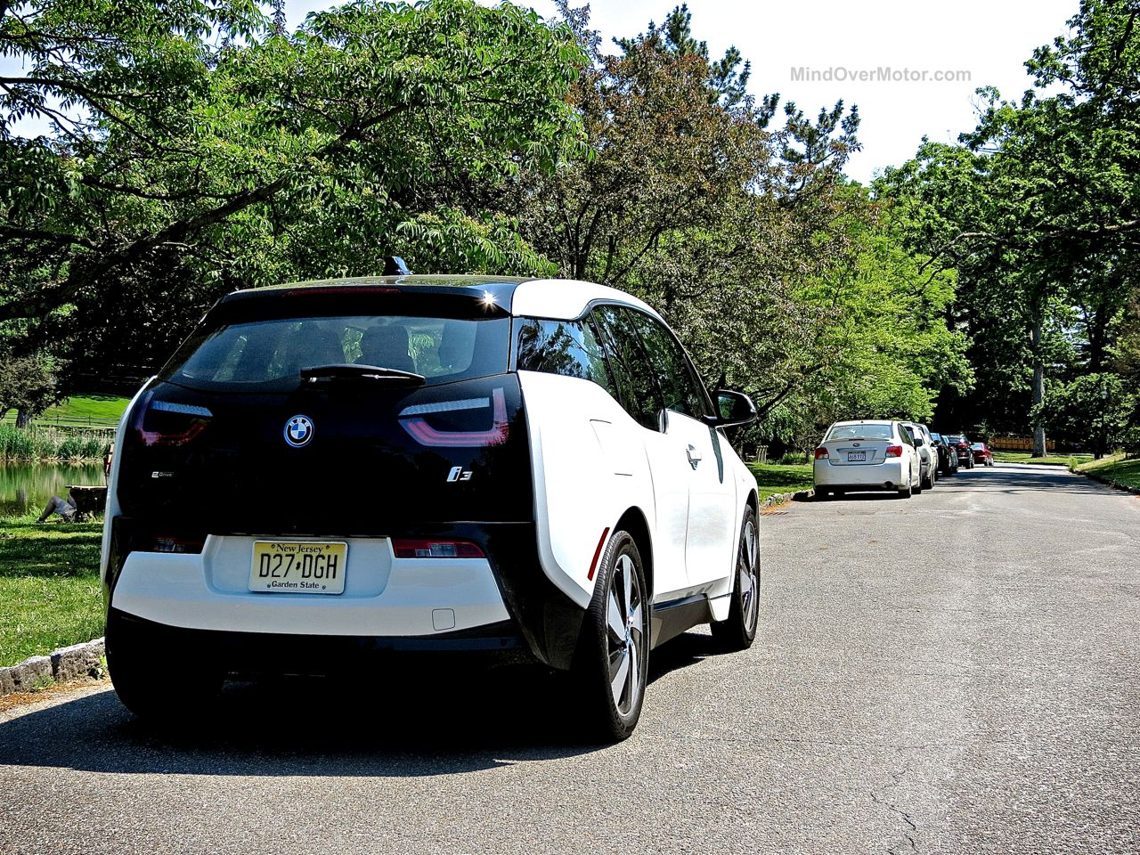 BMW i3 Electric Car Review 4