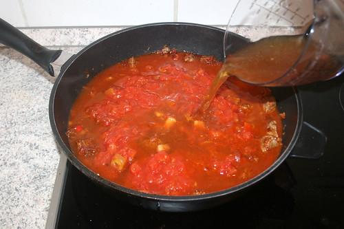 40 - Mit Fleischbrühe aufgießen / Drain meat broth