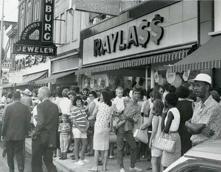 Raylass Department Store Columbus Georgia 1966 Grand Opening Press Photo