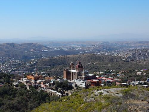 Zicht op Guanajuato