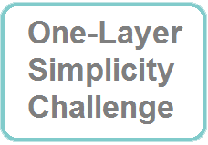 One Layer Simplicity Challenge - Blog