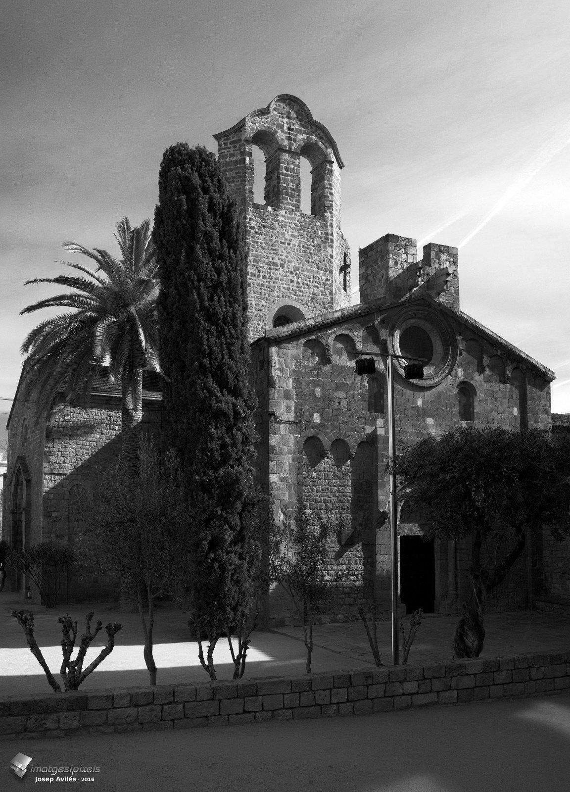 Monestir Romànic de Sant Pau del Camp. Barcelona