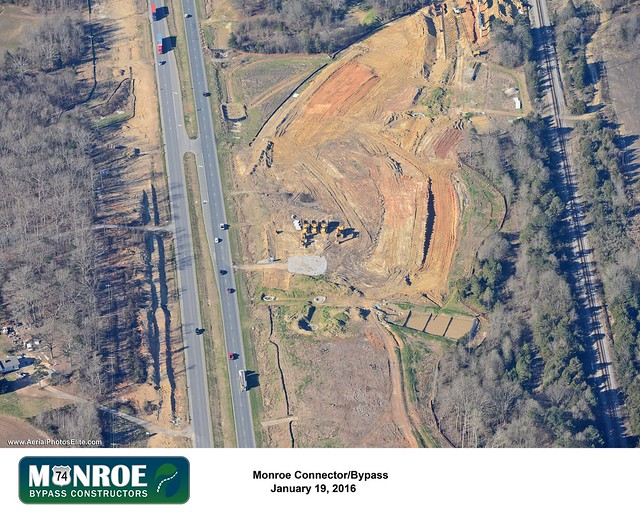 Monroe Expressway Construction