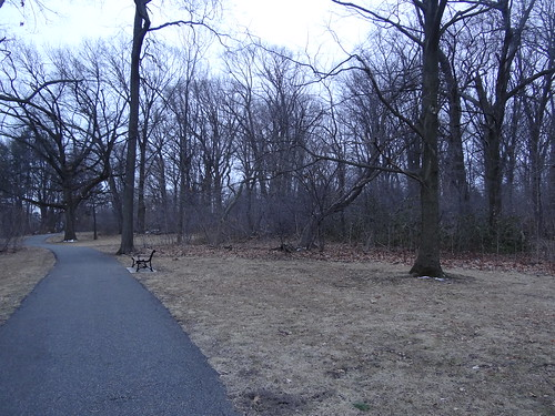 Brookdale Park magic edge in March