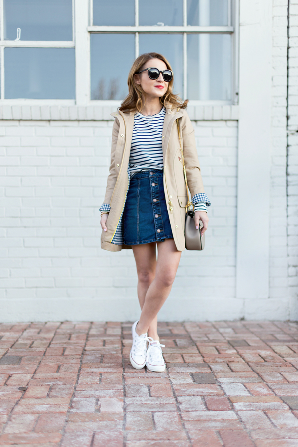 J Crew Chateau Trench