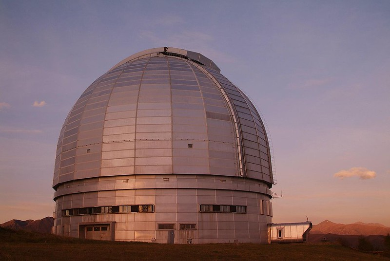 BTA-6, the World's largest telescope since 1975 until 1990