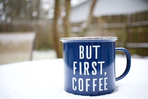 but first, coffee || storm jonas