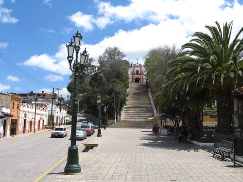 San Cristóbal de las Casas: la colline de Guadalupe