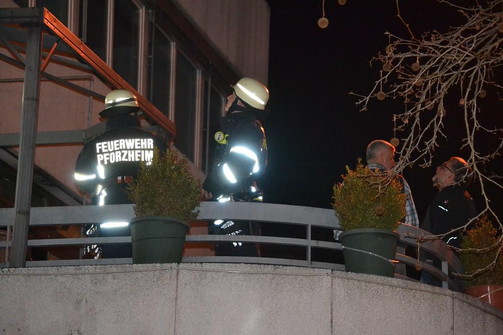 "Pforzheim: Kaminbrand beim ""Aratat"" - 25.02.2016"